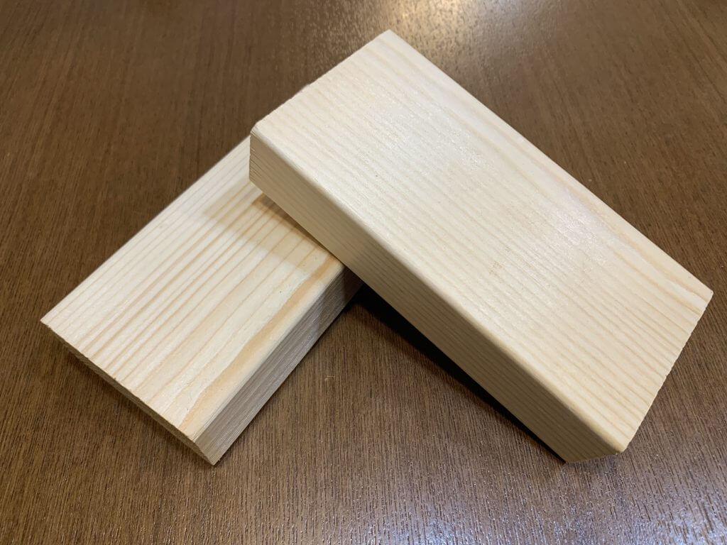 手頃な2×4の端材