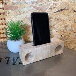 【端材でDIY】木製スマホスピーカーを自作♪意外に音質良くて大満足です!